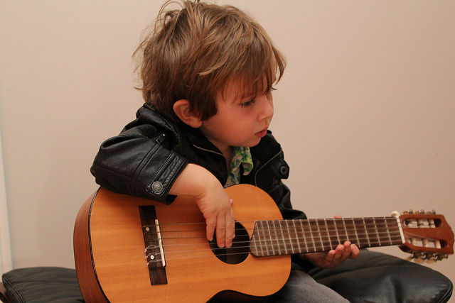How To Teach A Little Kid To Play Guitar