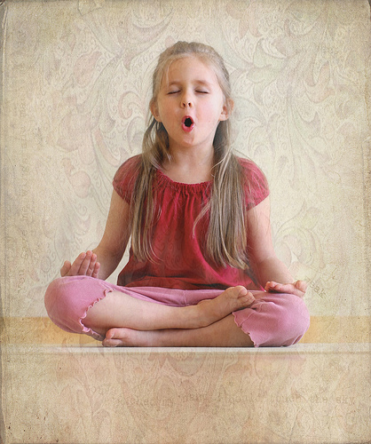 teach yoga to kids