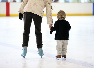 ice skating child