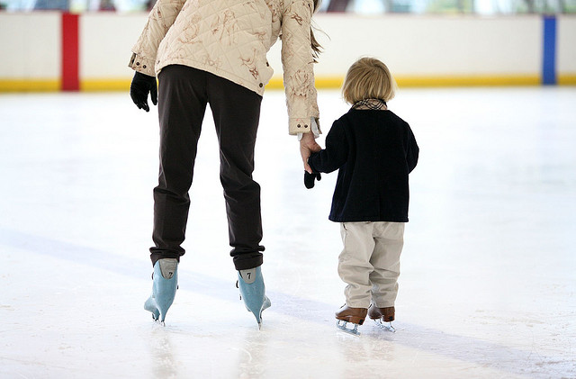 ice skating child